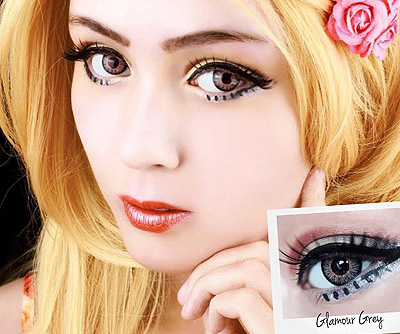 ColourVue Big Eyes Glamour Grey