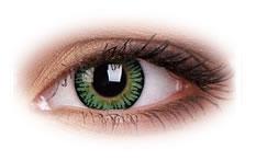 Kolorowe Soczewki ColourVue 3 Tone Green