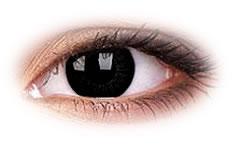 Kolorowe Soczewki Kontaktowe ColourVue Big Eyes Dolly Black
