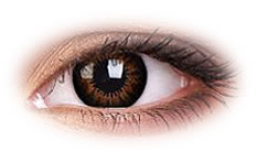 Soczewki Kontaktowe ColourVue Big Eyes Sweet Honey