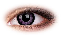 Soczewki Kontaktowe ColourVue Big Eyes Ultra Violet