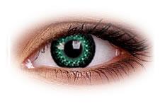 Kolorowe Soczewki ColourVue Eyelush Green