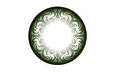 Soczewki Kontaktowe Neo Cosmo Zielone Floresy (N502)